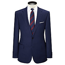 Buy Paul Costelloe Super 110s Wool Flannel Modern Fit Suit Jacket, Royal Blue Online at johnlewis.com