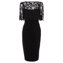 Buy Coast Terri-Anne Lace Dress, Black Online at johnlewis.com