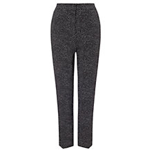 Buy Phase Eight Alexa Spot Cropped Trousers, Black/Ivory Online at johnlewis.com
