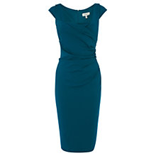 Buy Coast Alva Ponte Dress, Kingfisher Online at johnlewis.com