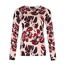 Buy Viyella Tulip Print Pure Merino Jumper Online at johnlewis.com