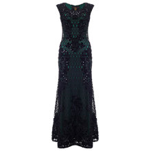 Buy Phase Eight Soprano Dress, Black/Forest Online at johnlewis.com