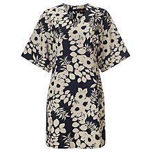 Buy Phase Eight Kadie Kimono Dress, Blue/White Online at johnlewis.com