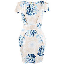 Buy Closet Floral Tie Back Tulip Dress, Multi Online at johnlewis.com