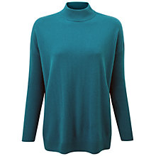 Buy Pure Collection Paddenswick Wool Jumper, Lunar Blue Online at johnlewis.com