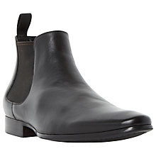 Buy Dune Mister Plain Leather Chelsea Boots Online at johnlewis.com