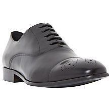Buy Dune Riley Flower Toecap Leather Oxford Shoes Online at johnlewis.com