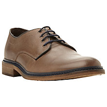 Buy Bertie Brash Leather Derby Shoes, Grey Online at johnlewis.com