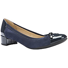 Buy Geox Carey Block Heeled Pumps Online at johnlewis.com