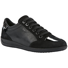 Buy Geox Myria Lace Up Flat Trainers Online at johnlewis.com