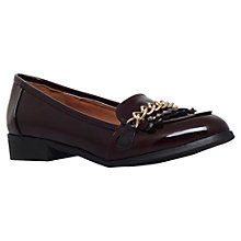 Buy Miss KG Miller Gold Chain Loafers, Wine Online at johnlewis.com