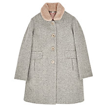 Buy Jigsaw Junior Girls' Speckled Wool Coat, Grey Online at johnlewis.com