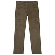 Buy Jigsaw Junior Girls' Military Trousers Online at johnlewis.com