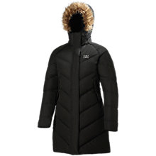 Buy Helly Hansen Aden Puffy Parka, Black Online at johnlewis.com