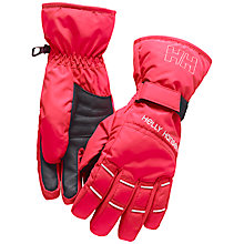 Buy Helly Hansen Alpine Gloves, Pink Online at johnlewis.com