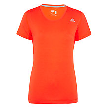 Buy Adidas AIS Prime T-Shirt, Red Online at johnlewis.com