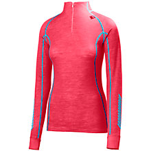 Buy Helly Hansen Warm Freeze 1/2 Zip Base Layer, Pink Online at johnlewis.com