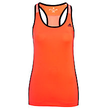 Buy Adidas Gym Style Tank Top, Red Online at johnlewis.com