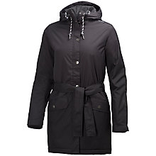 Buy Helly Hansen Lyness Waterproof Insulated Women's Raincoat, Black Online at johnlewis.com