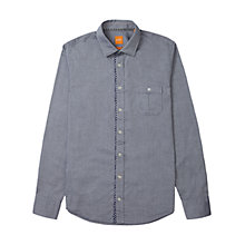 Buy BOSS Orange Eslime Oxford Cotton Shirt Online at johnlewis.com