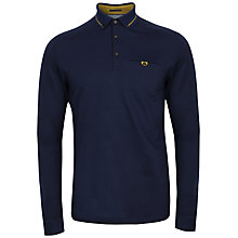 Buy Ted Baker Long Sleeved Polo Shirt Online at johnlewis.com