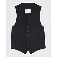 Buy Jigsaw Tailored Waistcoat, Navy Online at johnlewis.com