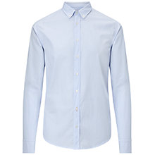 Buy BOSS Orange Edipoe Plain Cotton Shirt Online at johnlewis.com