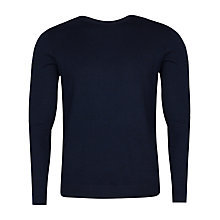 Buy Ted Baker Ramatak Merino Wool Jumper, Dark Blue Online at johnlewis.com