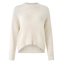 Buy Kin by John Lewis Cable Knit Jumper, Ivory Online at johnlewis.com