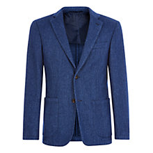 Buy Aquascutum Brinkworth Garment Dyed Slim Fit Blazer Online at johnlewis.com