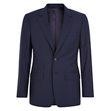 Buy Aquascutum Swift Wool Silk Slim Fit Suit, Blue Online at johnlewis.com