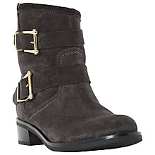 Buy Dune Philee Buckle Detail Ankle Boots Online at johnlewis.com
