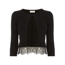 Buy Coast Dust Bolero Cover Up, Black Online at johnlewis.com