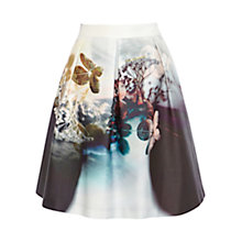 Buy Coast Ronnie Skirt, Multi Online at johnlewis.com