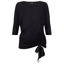 Buy Phase Eight Elisa Top, Black Online at johnlewis.com