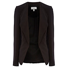 Buy Coast Miraslava Open Front Jacket, Black Online at johnlewis.com