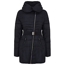 Buy Phase Eight Reagan Padded Coat, Charcoal Online at johnlewis.com