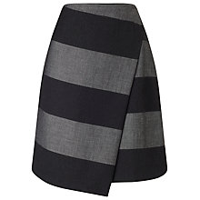 Buy Phase Eight Jennie Skirt, Charcoal/Silver Online at johnlewis.com