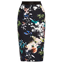 Buy Coast Jagger Floral Printed Skirt, Multi Online at johnlewis.com