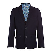 Buy John Lewis Heirloom Collection Boys' Formal Linen Cotton Jacket, Navy Online at johnlewis.com