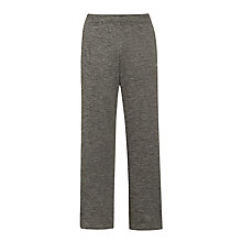 Buy Adidas Fleece Training Trousers, Grey Online at johnlewis.com