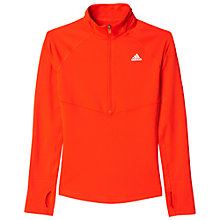 Buy Adidas Techfit Climawarm 1/2 Zip Top Online at johnlewis.com