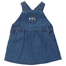 Buy John Lewis Denim Pinafore Dress, Blue Online at johnlewis.com