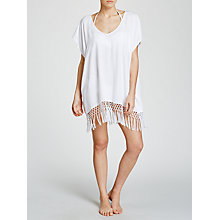 Buy Seafolly Starlight Kaftan, White Online at johnlewis.com