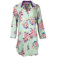 Buy Cyberjammies Waterlily Nightshirt, Aqua Online at johnlewis.com