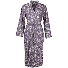 Buy Cyberjammies Bird Print Robe, Grey Online at johnlewis.com
