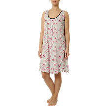 Buy Cyberjammies Peony Delight Chemise, Pink/Navy Online at johnlewis.com