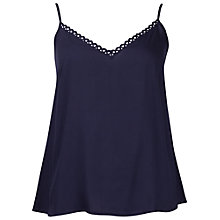 Buy Cyberjammies Camisole Pyjama Top, Navy Online at johnlewis.com