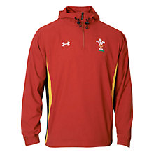Buy Under Armour Wales Rugby Training Jacket, Red Online at johnlewis.com