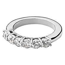Buy Dyrberg/Kern Cubic Zirconia Stacking Ring Online at johnlewis.com